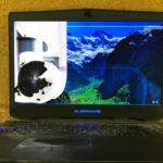 Dell ALIENWARE 17 P18Eの液晶修理 画面割れ