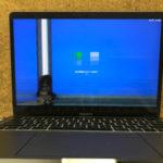 Apple MPXV2J/Aの画面故障 線が入った修理