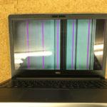 DELL Inspiron 15 5567の液晶修理 表示不良