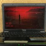 東芝 dynabook EX/35LBLKS 画面が赤いパソコン修理