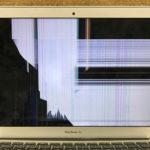 MacBook Air 2013 画面割れ