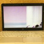 NEC PC-GL18CRHAYの画面割れ パソコン修理