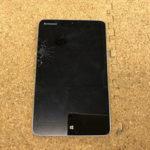 Lenovo Miix 2 8インチの液晶割れ タブレット修理