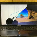 東芝dynabook T552/47GBDの画面割れ修理