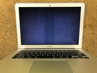 MacBook Air  画面の故障
