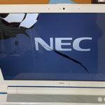 松戸市からパソコン修理 持ち込み NEC NS600/J 画面割れ