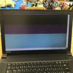 東芝 B553/Jの画面割れ パソコン液晶修理