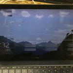 asus UX390UA 画面が正常に映らない修理