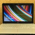 NEC PC-LS700RSW 画面に線が入った修理