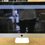 iMac 液晶割れ