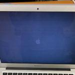 MacBook Air 13 2015 液晶修理 表示不良 パネル交換