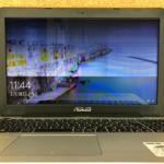 ASUS X555LAの液晶画面割れ、故障  パソコン修理
