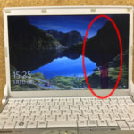 CF-N8の液晶割れ、画面に線がある症状を格安修理します!
