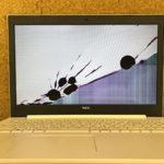 NEC NS600/KAW PC-NS600KAWの液晶割れ修理
