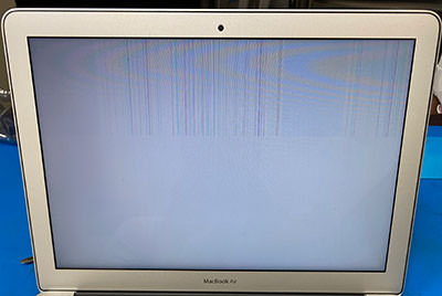 MacBook Air 表示不良