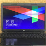 HP 15-d068TU 液晶画面に黒い線が入った修理