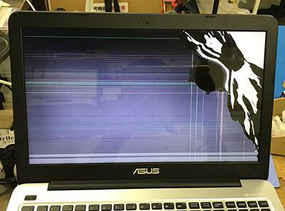 VivoBook X556UA 画面割れ