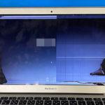 MacBook Air 2015 13インチの液晶画面割れ モニター修理