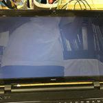 NEC LS150/Sの液晶故障、表示不良のパソコン修理