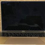 MacBook 12 画面が映らない