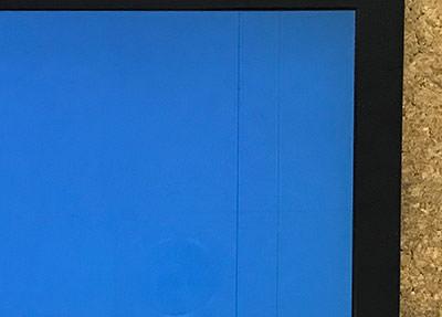 パソコン 画面に線