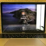 MacBook 2017 液晶割れ