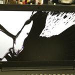 佐倉市のパソコン修理 Lenovo ideapad 320の画面割れ