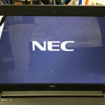 NEC PC-GN18HQRDFの液晶画面割れ修理