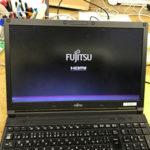 富士通 FMVA22003 画面に線が入った修理