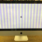 iMac ピンクの縦線が入って起動しない修理