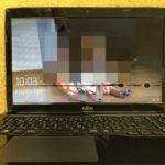 富士通 FMVA53RBの液晶画面割れ パソコン修理