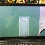 富士通 FMVA77C2LGの液晶画面割れ パソコン修理