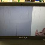 IIYAMA N750WU パソコン修理 画面割れ