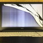 富士通 FMVA2601BP パソコン修理 液晶割れ