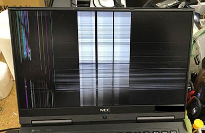 PC-GN254U1GA 液晶割れ