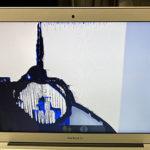 東京都からMacBook Airの即日修理依頼