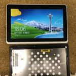 Acer ICONIA W510 液晶割れ、画面交換