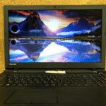 東芝 dynabook AZ15/TBのパソコン修理 液晶劣化 黒丸表示