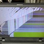 Lenovo SL510のパソコン修理 画面割れ