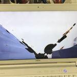 富士通 AH77/Eのパソコン修理 画面割れ