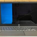HP pavilion laptop 15-cu0004tuの修理 画面割れ