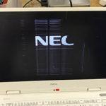 NEC NM550/KAW モバイルパソコン 画面割れ修理