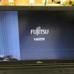 富士通 A577/S FMVA2600VDの液晶割れ パソコン修理