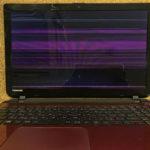 東芝 Dynabook T65/PRのパソコン修理 画面故障