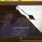 パソコン修理 HP g6の液晶が割れている画面交換