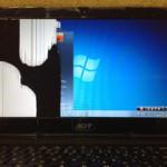 Acer 液晶修理 AspireONEの画面交換が格安!