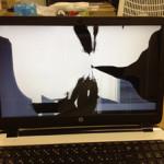 液晶修理 HP 15-r085TUのパソコン修理 画面交換が格安です!