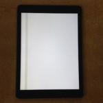 iPadAir液晶交換 表示不良、パネル交換が格安