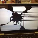 液晶修理 MacbookProの画面割れは最短1日で修理可能です!