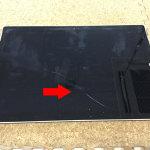 Surface Pro 3 液晶割れ